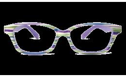 Lunettes de lecture Cauris Strié Vert Violet
