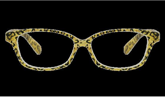 Lunettes de lecture Cauris Leopard mat