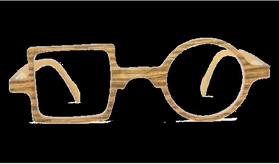 Lunettes de lecture Patchwork Façon bois