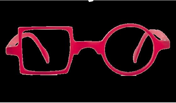 Lunettes de lecture Patchwork - Rouge