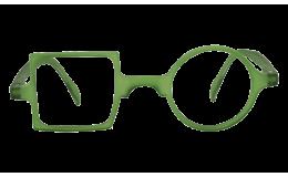 Lunettes de protection écran Patchwork - Vert jade sans correction