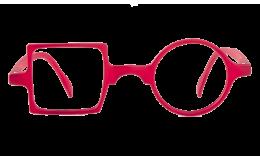 Lunettes de protection écran Patchwork - Rouge sans correction