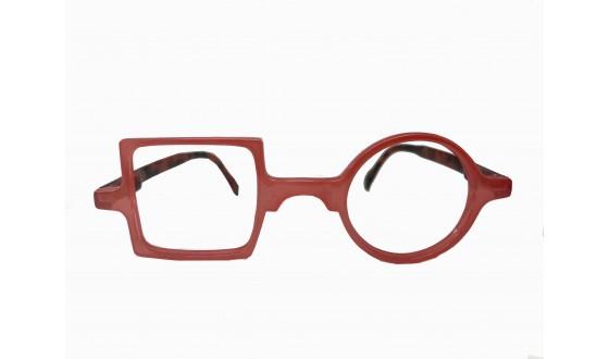 Lunettes de lecture Patchwork - Rouge clair