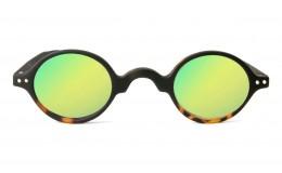 Lunettes solaires Légende - Bicolore écaille et noir Miroir sans correction
