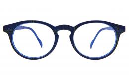 Lunettes de protection écran Tradition - Bleu jeans