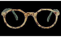 Lunettes de protection écran Hurricane - Ecaille blond mate et vert