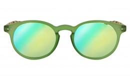 Lunettes de soleil Tradition - Vert Jade effet miroir