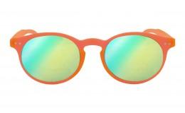 Lunettes de soleil Tradition - Orange Fluo effet miroir