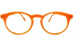 Lunettes de lecture Tradition - Orange fluo