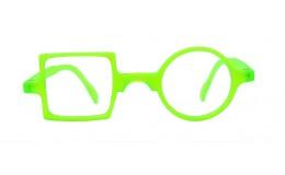 Lunettes de protection écran Patchwork - Vert fluo