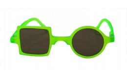 Sunglasses Patchwork - Neon green