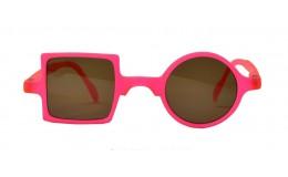 Sunglasses Patchwork - Neon pink