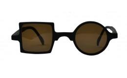 Sunglasses Patchwork - Mate Black