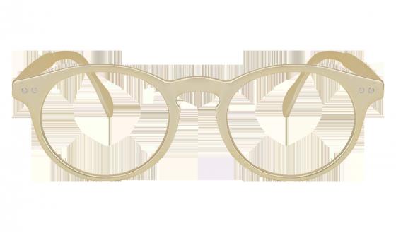 Lunettes de lecture Tradition Dorée mat